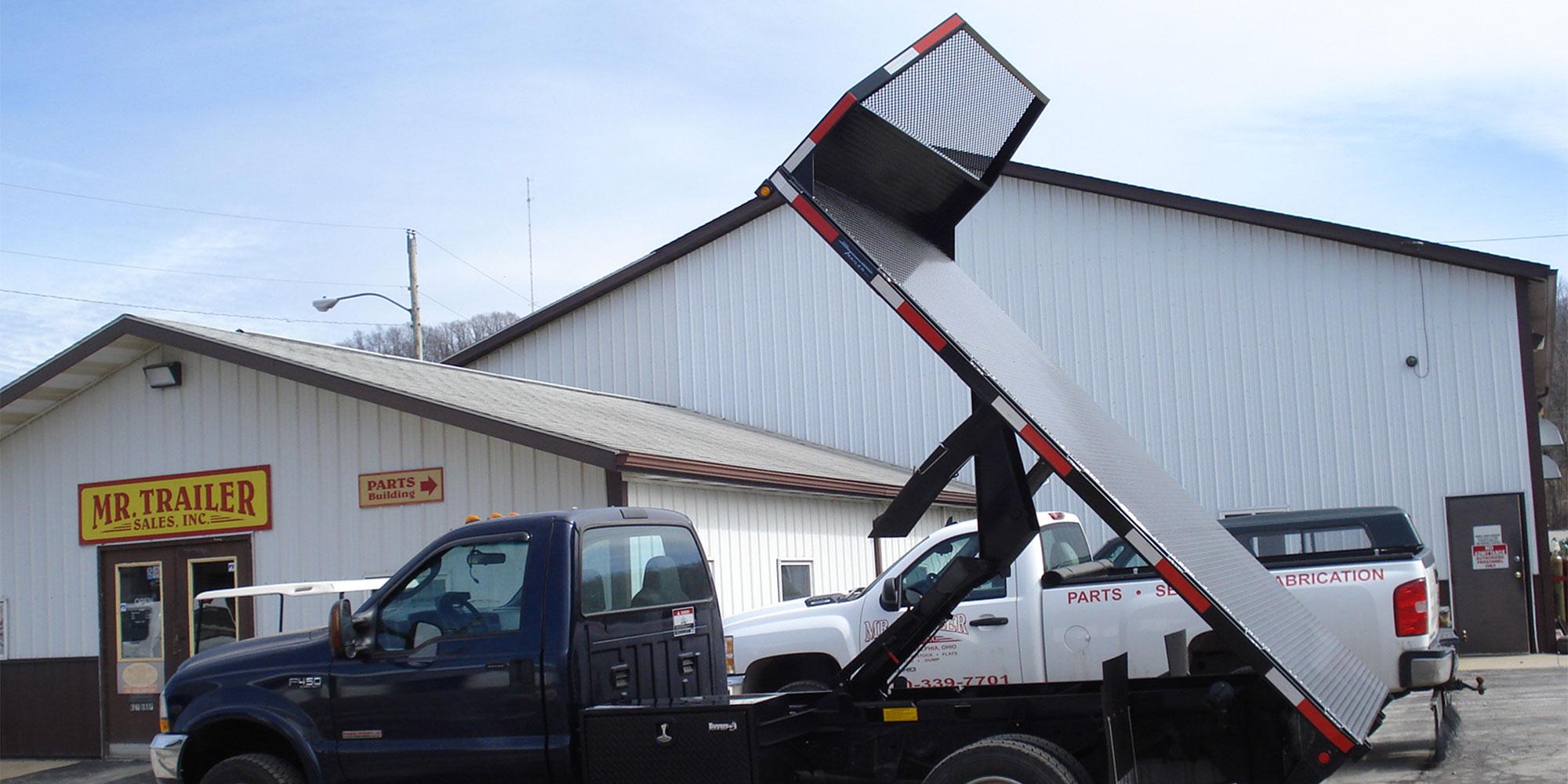 Truck Beds And Custom Fabrication Mr Trailer Sales New Philadelphia Ohio Moritz International Sure Trac And Stealth Trailer Dealer